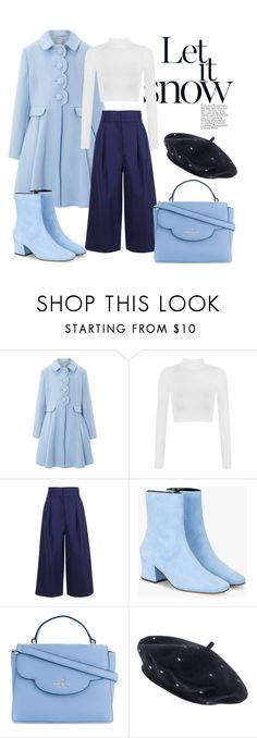 """""""Christmas Eve"""" by tlinston ❤ liked on Polyvore featuring Monsoon, WearAll, TIBI, Dorateymur, Kate Spade and Accessorize"""