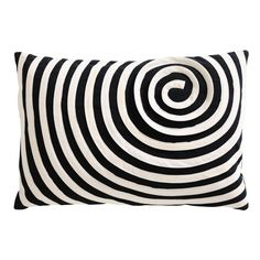 Coussin spirale noir/blancPrix : 14€90