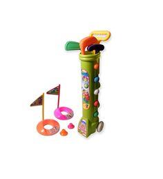 Pour #Noel , faites découvrir le #Golf à votre #enfant avec ce jouet spécialement conçu pour les enfants de 0 à 3 ans http://www.ruedugolf.com/boutique/clubs-de-golf/kit-golf-en-plastique-pour-enfant-de-0-a-3-ans/