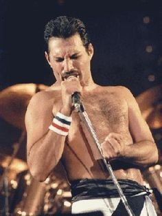 Freddie♥ - By the way of his expressions within his amazing and talented music and essence, one could easily tell, he always gave it his ALL! <3 m/