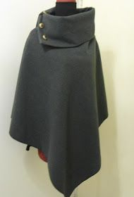 DIY: Cape/ Poncho, tutoriel couture gratuit - - DIY: Cape/ Poncho, tutoriel couture gratuit stuff I might actually do.Made in france: DIY: Cape/ Poncho, tutoriel couture gratuit Coin Couture, Couture Sewing, Sewing Clothes, Diy Clothes, Diy Cape, Diy Fashion, Fashion Outfits, Couture Tops, Free Sewing