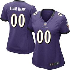 0524f0739 cheap Customized Baltimore Ravens Purple football jersey Nfl Jerseys For  Sale