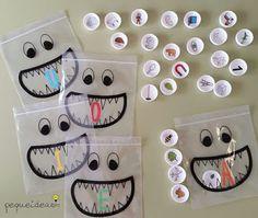 CLUB DE IDEAS | Tapones, pictogramas y bolsas zip. ~ La Eduteca
