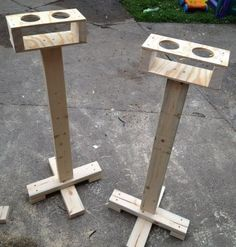 cup holder idea | cornhole designs | Pinterest | Cup Holders, Yard ...