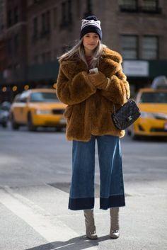 New York Fashion Week Street Style - February 16 2015 - RTW Fall Winter 2015