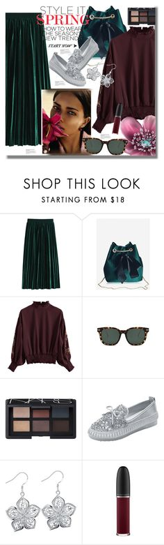 """""""Casual Chic"""" by pesanjsp ❤ liked on Polyvore featuring Vision, NARS Cosmetics, MAC Cosmetics and modern"""