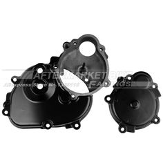 Motorcycle RIGHT Crankcase For Kawasaki ZX6R 2009 2010 2011 Engine Stator Crank Case Generator Cover