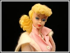 Vintage Barbie doll circa 1961.