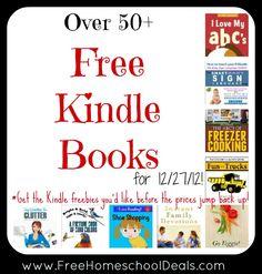 Over 50+ Free Kindle Books