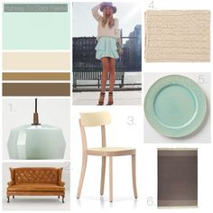 Runway To Color Palette: Mint Green | BHG Style Spotters