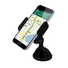 VersionTech Cell Phone Holder for Car Windshield Dashboard Universal Phone Mount Holder Car Phone cradle for iPhone 7/6s/6s Plus/6 /6 Plus/5s /4s iPhone SE Android and Other Cell Phones GPS devices