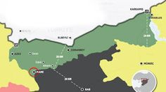 Rota Haber: Türk tankları Mare'de Pyd yi kovalıyor !