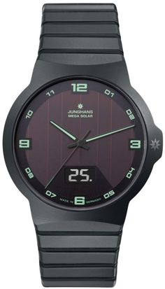 """Junghans Force Mega Solar Watch With Wireless Charge And Sync - by Patrick Kansa - see and learn more on aBlogtoWatch.com """"Watches that offer both solar power and atomic radio time-syncing, I am willing to bet, call to mind for you, as they do for me, watches that hail from Japanese companies – and for good reason... It might come as a bit of a surprise, then, to learn that German Junghans' Force Mega Solar is not a completely new foray for the brand..."""""""