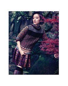Du Juan | Vogue China September 2011
