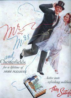 https://flic.kr/p/9vzSds | Ad for Chesterfield 1938