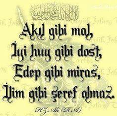 # HzÖmer # Sprüche # Zitate – Halime – Join the world of pin Imam Ali, Karma, Letting Go, Allah, Wisdom, Calligraphy, Quotes, Nba, Benjamin Franklin