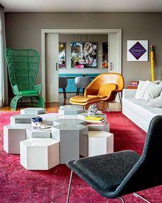 Home Design, Interior Design, Design Ideas, Living Roon, Living Room Decor, Elle Decor, Contemporary Decor, Home Decor Inspiration, Home And Living