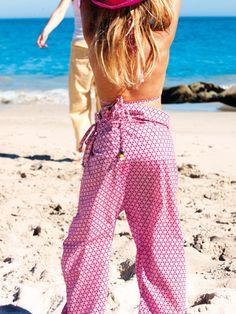 FREE PATTERN Bali pants kids size :: Pantalones Bali talla niños PATRÓN GRATIS