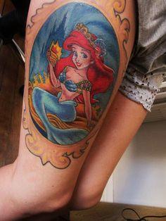 Ariel tattoo. Done at diablo inc tattoo in Brighton UK