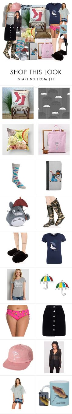 """Boots 4 a day"" by lerp ❤ liked on Polyvore featuring Happy Socks, Alpine, Gund, Dirty Laundry, Lust For Life, Barbour, maurices, Anne Cole, Miss Selfridge and Banks"