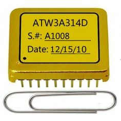 The ATW3A314D is a compact high efficiency electronic module designed to control TECs (Thermo-Electric Coolers) for regulating a target object temperature to be within a pre-set temperature window. High efficiency: ≥90% Seebeck voltage available Switching frequency synchronizable to an external signal Programmable maximum output current: 0 to 3A Programmable maximum output voltage: 0 to VPS Actual object temperature monitoring Completely shielded: zero EMI Compact size