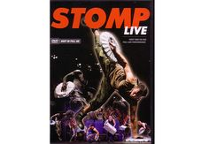 STOMP LIVE DVD - This idiosyncratic group combines physical comedy and athleticism with the rhythmic precision of an ensemble of dancers or percussionists. Don't miss this new DVD.   109 min. plus 53 min. of bonus features including an interview with Stomp creators, Stomp tour previews, behind-the-scenes footage, history of Stomp, and performer bios.