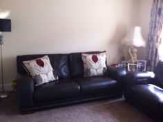 2 & 3 SEATER LEATHER SOFA SUITE FANTASTIC CONDITION 3 Seater Leather Sofa, Leather Living Room Furniture, Couch, Amp, Ideas, Home Decor, Settee, Decoration Home, Sofa