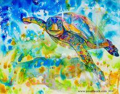 """Floating Turtle"""