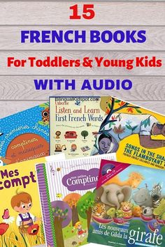 15 French Books for Kids with Music Audio (For Young Kids & Toddlers) - Kids Audio Books - ideas of Kids Audio Books - French Books for Kids with Audio Read In French, How To Speak French, Learn French, Toddler Books, Childrens Books, Teaching Kids, Kids Learning, French Articles, French Resources
