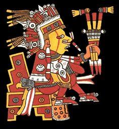 Xipe Totec - Dios de la Agricultura, la Vegetación, el Este, Enfermedades, Primavera, las Estaciones (Aztec god of agriculture, vegetation, the east, illness, spring, the seasons)