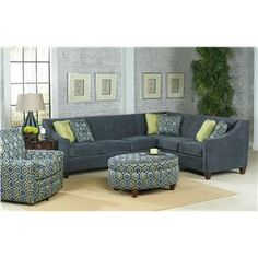 England Furniture Living Room Sectional And Exposed Wood On Pinterest