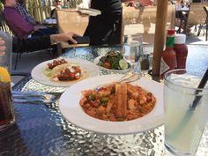 jambalaya & fish taco
