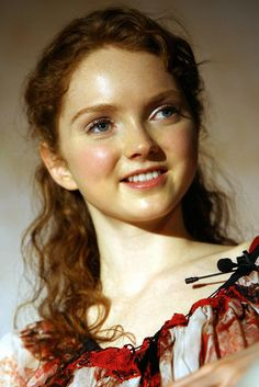 Lily Cole as Marta in Jessica Day George's 'Dragon Slippers' trilogy