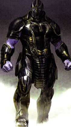 In this batch of Avengers: Endgame concept art, we get to see a host of different armour designs for the Mad Titan, some of which portray him as a fierce warrior and others that turn him into a warlord. Marvel Concept Art, Marvel Art, Marvel Avengers, Marvel Comics, Marvel Villains, Marvel Characters, Character Concept, Character Art, Foto Batman