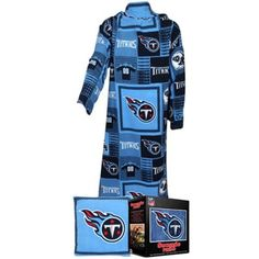Tennessee Titans Unisex Light Blue Snuggie Pillow