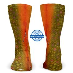 Need a gift for a Fly Fisher? Our Brook Trout Socks make a great gift!