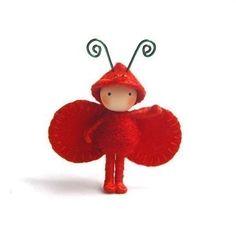 #papillon #rouge