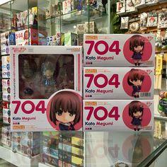 Nendoroid Megumi Kato ya está en #Zaitama!  De la popular serie #Saekano ya se encuentra disponible la figura más kawaii de Megumi con 3 tipos de pelo diferentes.  Ve sus detalles en la tienda: http://ift.tt/2sHNxr3