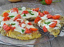 Tortino di patate e melanzane in padella ricetta facile