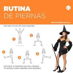 ¿Quieres que tu disfraz de #Halloween se vea sexy? Haz esta rutina de pierna. #sexylegs