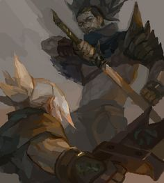 — I would love some Yasuo doodles, if you can....