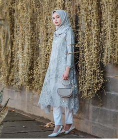 New Ideas Party Dress Ideas Casual Kebaya Modern Hijab, Kebaya Hijab, Kebaya Muslim, Model Kebaya Brokat Modern, Dress Brokat Muslim, Dress Brokat Modern, Kebaya Lace, Kebaya Dress, Dress Pesta