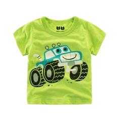 >> Click to Buy << Baby Newborn Boys T-Shirts 2017 Summer Clothing Short Sleeve Print Cartoon Cars Cotton Kids Tshirt Children Clothes 2t088 #Affiliate
