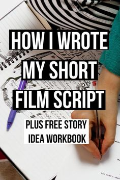 Article on how I wrote my short film script. I have also created a free workbook download called story ideas - a guide on how to develop your story idea to a first draft | screenwriter | filmmaker
