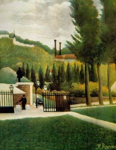 The Toll-House; c1900, Henri Russeau.