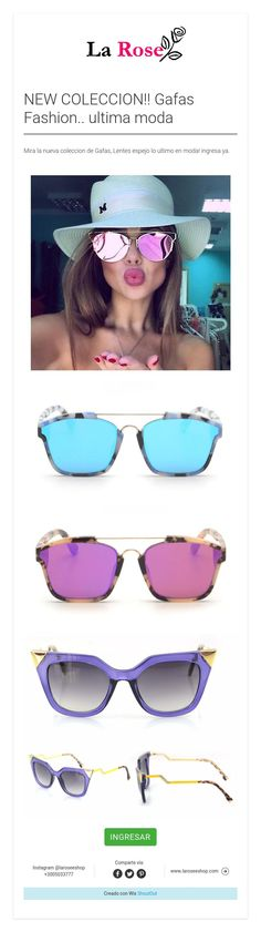 dfb403844ef1b NEW COLECCION!! Gafas Fashion.. ultima moda
