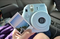 Fuji film instax mini 8.