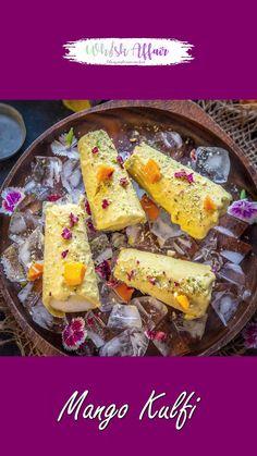 Kulfi Recipe Video, Kulfi Recipe Easy, Chaat Recipe, Fun Baking Recipes, Milk Recipes, Snack Recipes, Cooking Recipes, Indian Dessert Recipes, Easy Indian Sweet Recipes