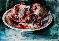 ARTFINDER: Pomegranate by Kovács Anna Brigitta -