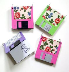 nice throwback... I miss floppy disks lol